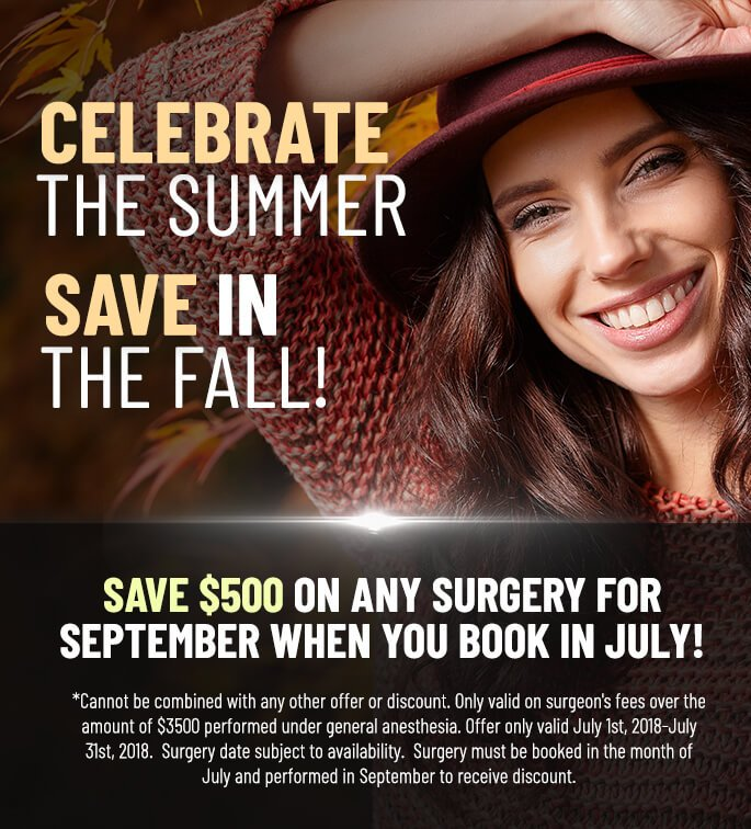 Celebrate the Summer – Save in the Fall!